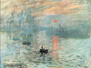 Claude Monet, Impression Sunrise